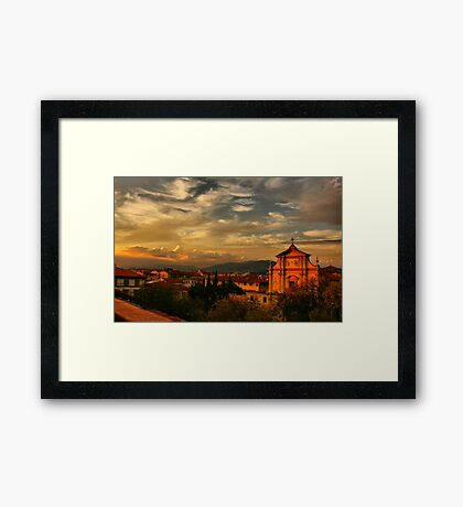 A View From My Room Framed Print
