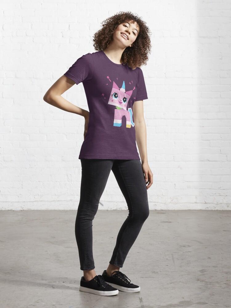 Alternate view of Unikitty Essential T-Shirt