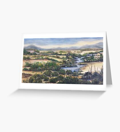 Molonglo Days Greeting Card