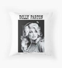 Dolly Parton Young Throw Pillow
