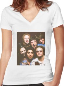 That '70s Show Cast Women's Fitted V-Neck T-Shirt
