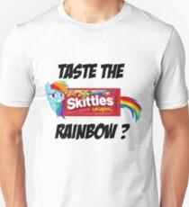 Taste The Rainbow? (BLACK TEXT) T-Shirt