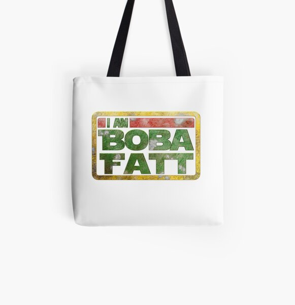 Boba Fatt rugged All Over Print Tote Bag
