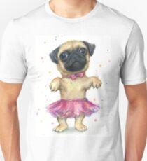 Pug in a Tutu Unisex T-Shirt