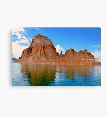 Lake Powell in Page, Arizona USA Canvas Print