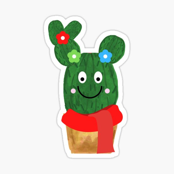 Start-Up - RGB Cactus Sticker