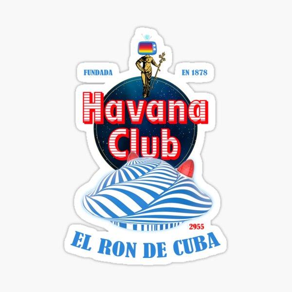 Havana Club 2955 x Vuuple Comics (El Ron De Cuba) Sticker