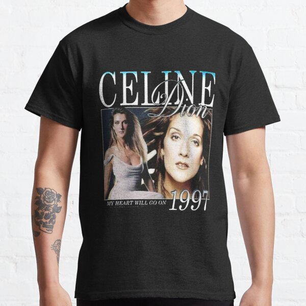 Céline Dion Men_s T-shirt classique