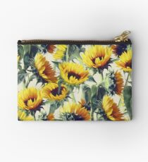 Sunflowers Forever Studio Pouch