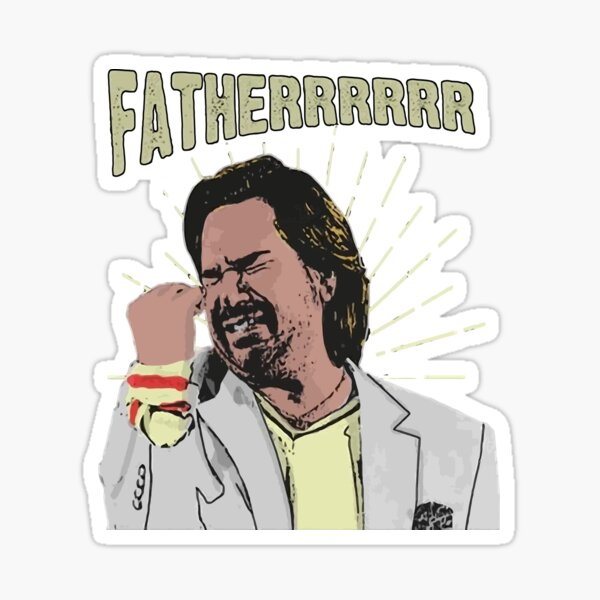Douglas Reynholm Father The It Crowd Sticker