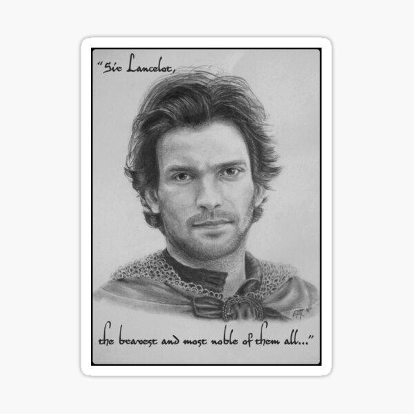 Lancelot le plus courageux de tous ... Sticker