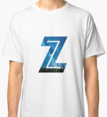 The Letter Z - Starry Night Classic T-Shirt