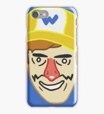 Wario (badbones) iPhone Case/Skin