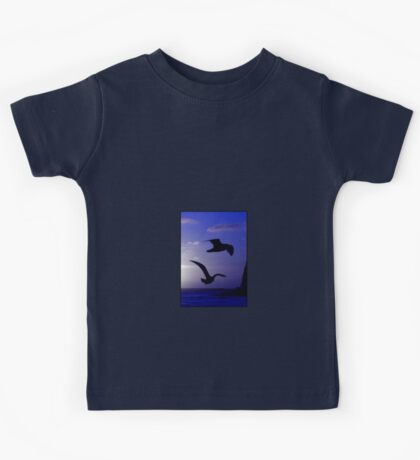 the double bird blues Kids Clothes
