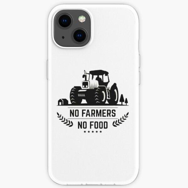 No Farmers No Food iPhone Soft Case