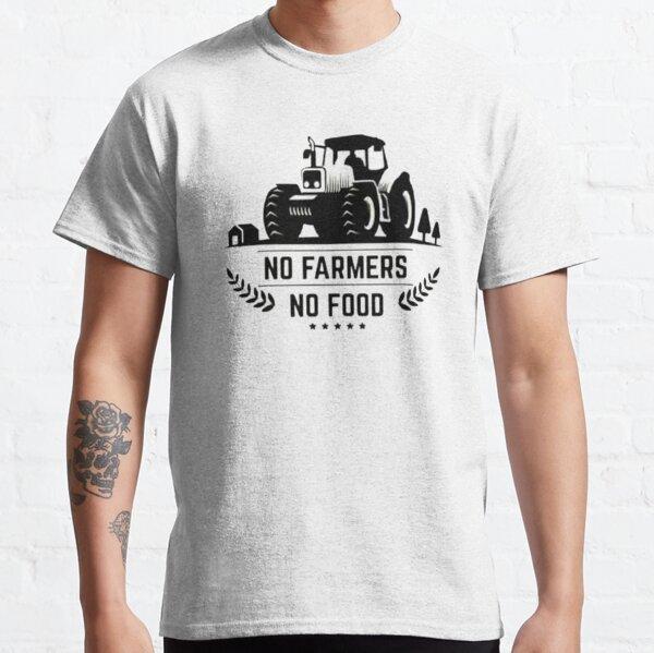 No Farmers No Food Classic T-Shirt