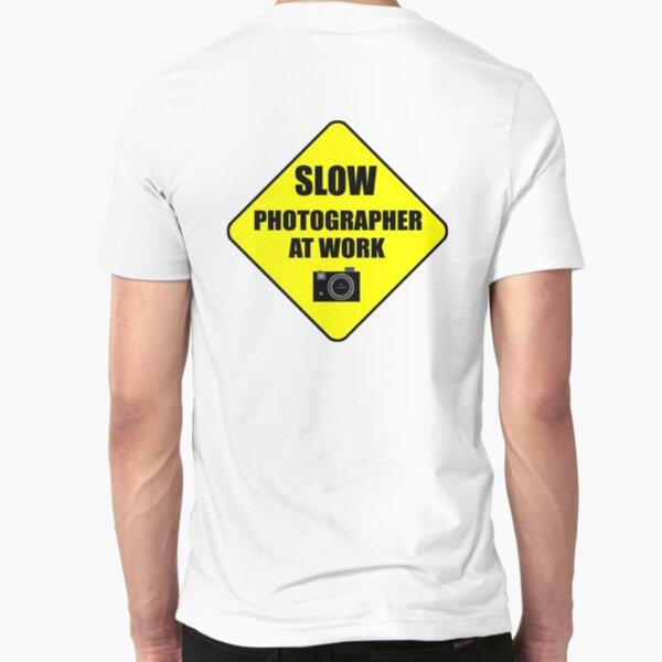 slow photographer Slim Fit T-Shirt