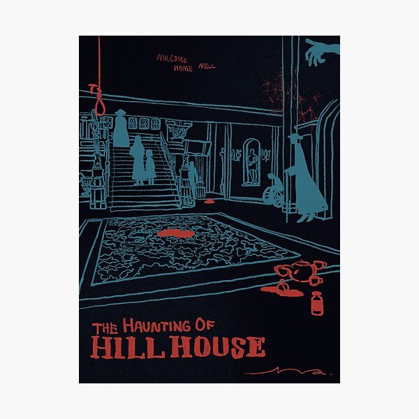 the Haunting of Hill House poster Photographic Print