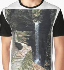 Watkins Glen State Park in New York , USA Graphic T-Shirt