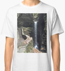Watkins Glen State Park in New York , USA Classic T-Shirt