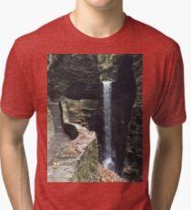 Watkins Glen State Park in New York , USA Tri-blend T-Shirt