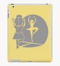 Ballet funny nerd geek geeky iPad Case/Skin