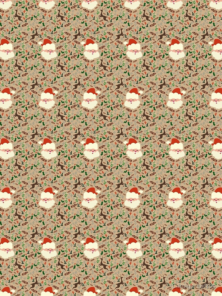 Christmas-Main Pattern by Carolyn-Loftus