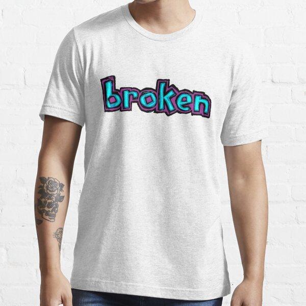 Broken Blind logo purple and blue Essential T-Shirt