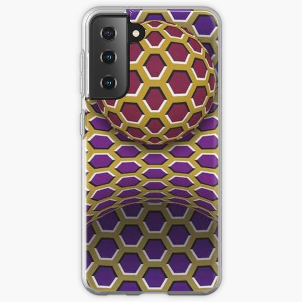 Visual Motion Illusion Samsung Galaxy Soft Case