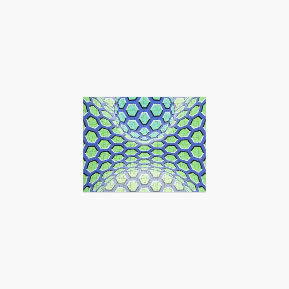 Visual Motion Illusion Jigsaw Puzzle