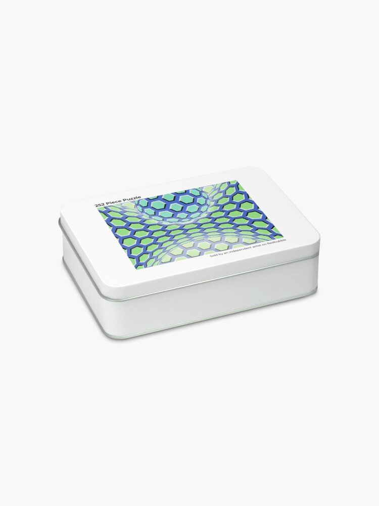 Alternate view of Visual Motion Illusion Jigsaw Puzzle