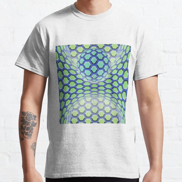 Visual Motion Illusion Classic T-Shirt