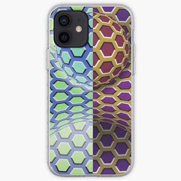 Visual Motion Illusion iPhone Soft Case
