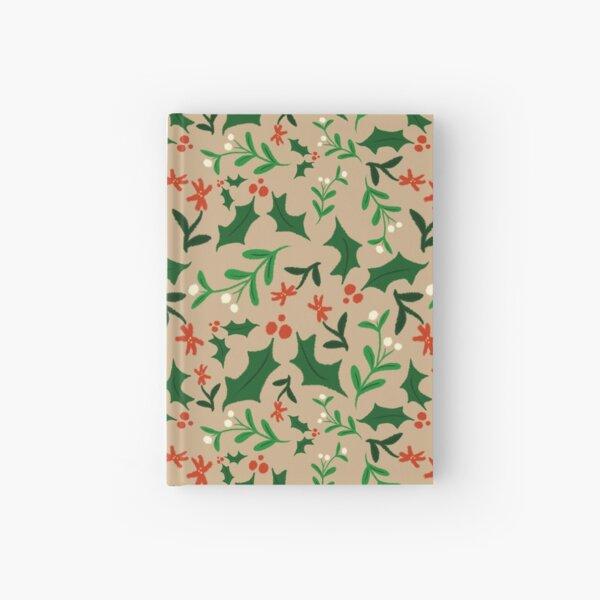 Christmas-Holly & Mistletoe Hardcover Journal