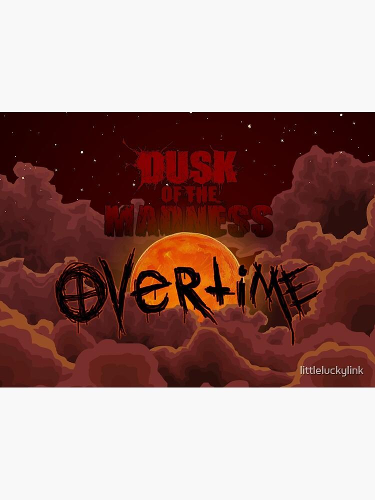 Dusk of the Madness: Overtime Night Sky Logo by littleluckylink
