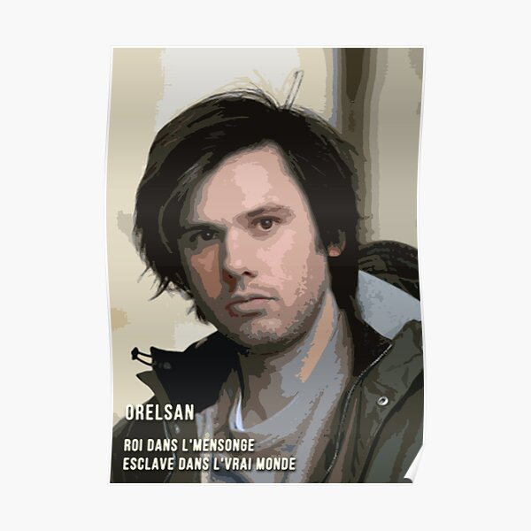Style Pop Art Orelsan Poster