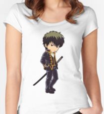 Gintama - Hijikata Toushirou Women's Fitted Scoop T-Shirt