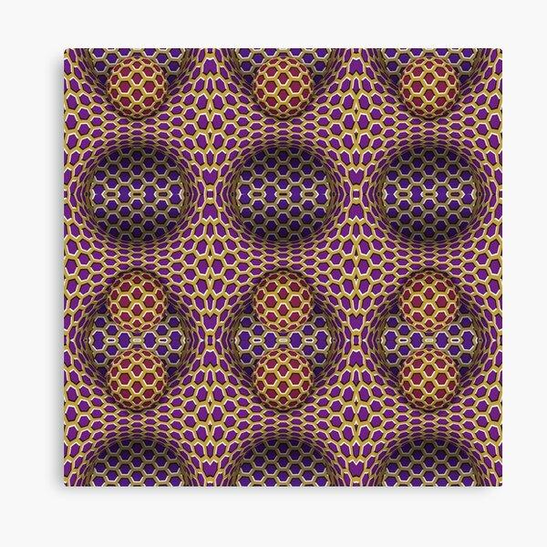 Visual Motion Illusion Canvas Print