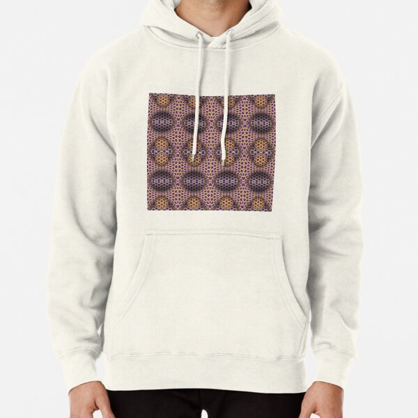 Visual Motion Illusion Pullover Hoodie