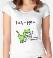 Tea Rex Women's Fitted Scoop T-Shirt