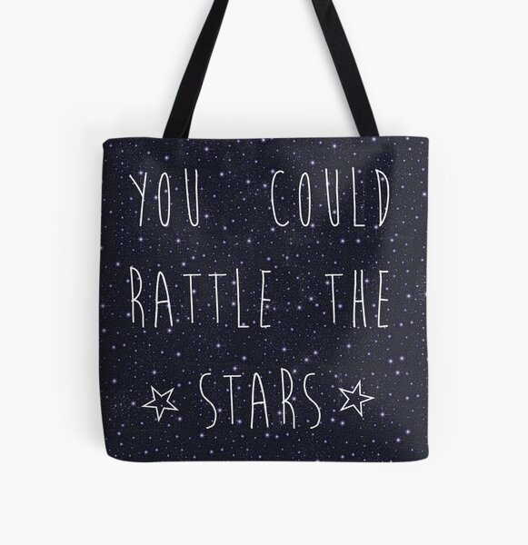 you could rattle the stars All Over Print Tote Bag