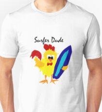 Cool Funny Surfer Dude Cartoon Unisex T-Shirt