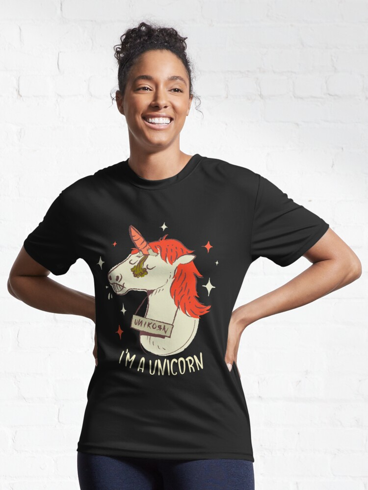 Alternate view of I'm a unicorn Active T-Shirt