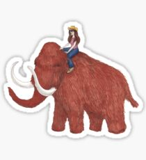 Millie and the Mammoth Sticker