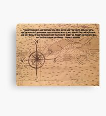 Our Life's Direction Canvas Print