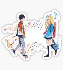 Your Sound - Shigatsu wa kimi no uso Sticker
