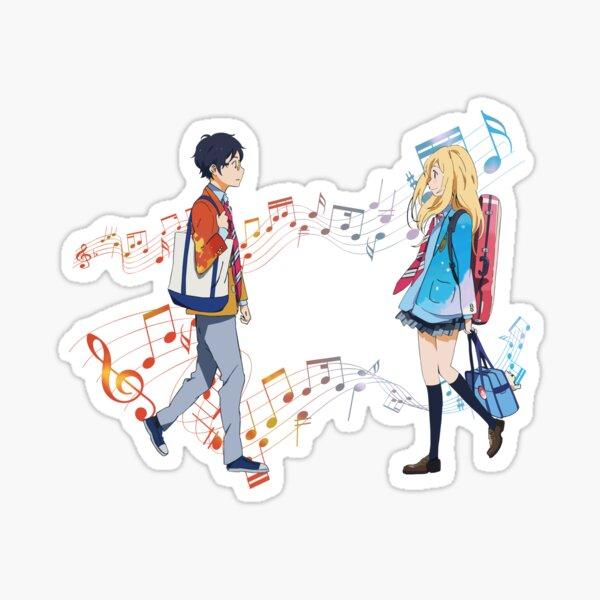 Tu sonido - Shigatsu wa kimi no uso Pegatina