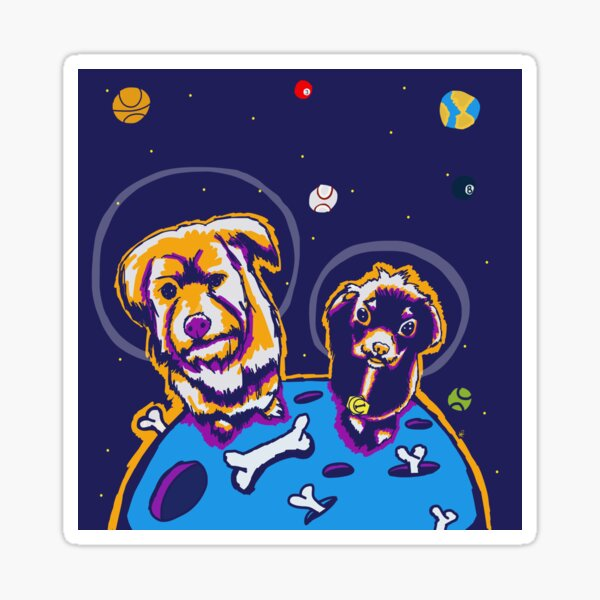 Crater Dogs Sticker