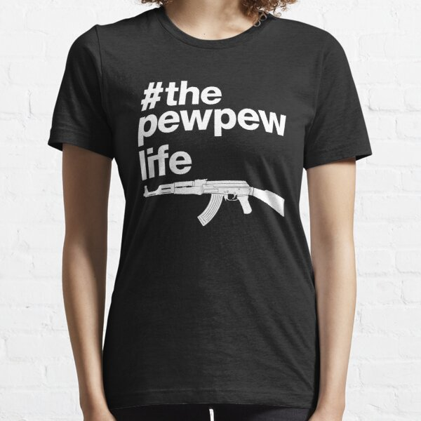 The Pew Pew Life, 2nd Amendment. Essential T-Shirt