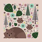 Wild Bears  by CarlyWatts